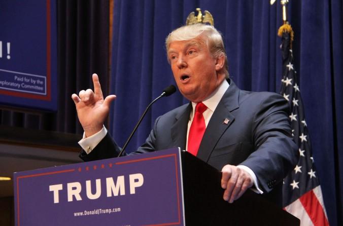 Donald Trump Announces His Run for President